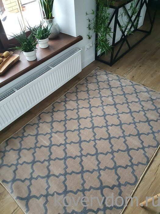 Ковер Scandinavian TRELLIS 37 brown-grey